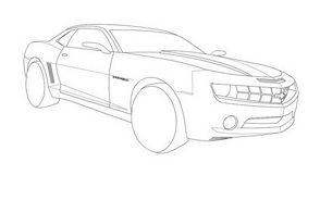 Automobile da colorare 93