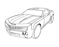 Automobile da colorare 94