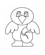 Uccello da colorare 23