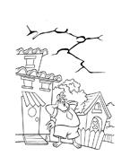 Chicken little – Amici per le penne da colorare 67