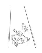 Chicken little – Amici per le penne da colorare 71