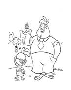 Chicken little – Amici per le penne da colorare 77