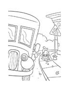 Chicken little – Amici per le penne da colorare 79