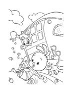 Chicken little – Amici per le penne da colorare 81