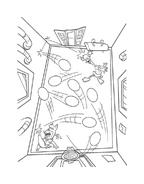 Chicken little – Amici per le penne da colorare 91