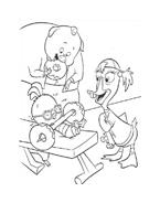 Chicken little – Amici per le penne da colorare 103