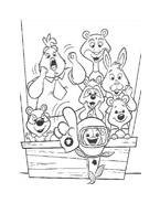 Chicken little – Amici per le penne da colorare 115