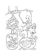 Chicken little – Amici per le penne da colorare 127