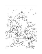 Chicken little – Amici per le penne da colorare 133