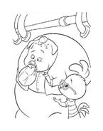 Chicken little – Amici per le penne da colorare 141