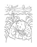 Chicken little – Amici per le penne da colorare 143
