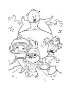 Chicken little – Amici per le penne da colorare 145