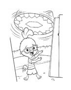 Chicken little – Amici per le penne da colorare 157