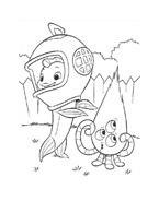 Chicken little – Amici per le penne da colorare 169
