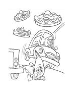 Chicken little – Amici per le penne da colorare 171