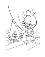Chicken little – Amici per le penne da colorare 173