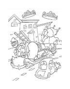 Chicken little – Amici per le penne da colorare 183