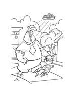 Chicken little – Amici per le penne da colorare 25
