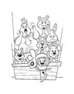 Chicken little – Amici per le penne da colorare 41