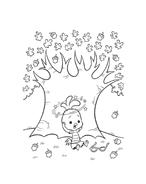 Chicken little – Amici per le penne da colorare 51