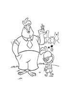Chicken little – Amici per le penne da colorare 53