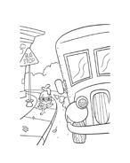Chicken little – Amici per le penne da colorare 54