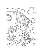 Chicken little – Amici per le penne da colorare 55