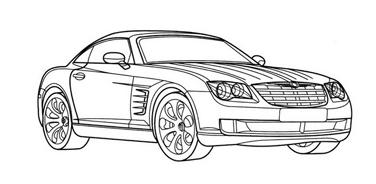 Automobile da colorare 95
