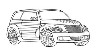 Automobile da colorare 96