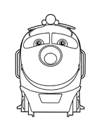 Chuggington da colorare 3