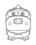 Chuggington da colorare 5