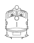 Chuggington da colorare 7