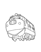 Chuggington da colorare 8