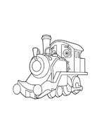 Chuggington da colorare 10