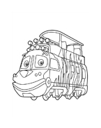 Chuggington da colorare 17