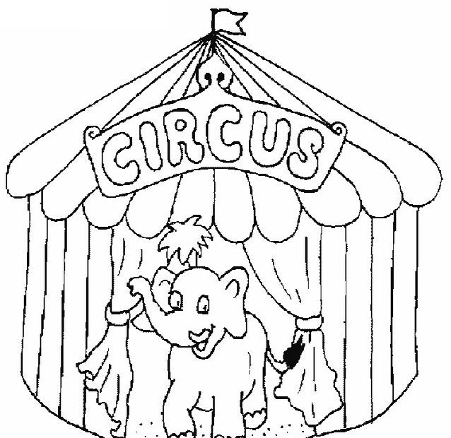 Circo da colorare 3