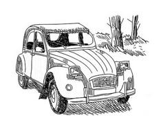 Automobile da colorare 98