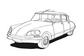 Automobile da colorare 100