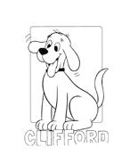 Clifford da colorare 84