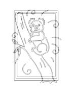 Koala da colorare 8