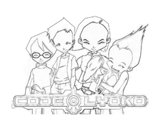 Code lyoko da colorare 4