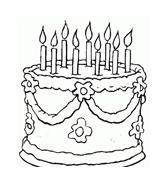 Compleanno da colorare 42