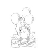 Compleanno da colorare 47