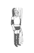 Carabiniere da colorare 12