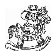 Cowboys da colorare 13