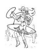 Cowboys da colorare 15