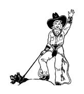Cowboys da colorare 16