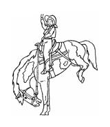 Cowboys da colorare 18