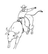 Cowboys da colorare 23