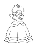Mario bros da colorare 5